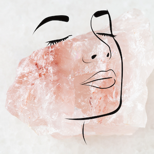 Gua Sha Quartz Rose - How to use with a Serum