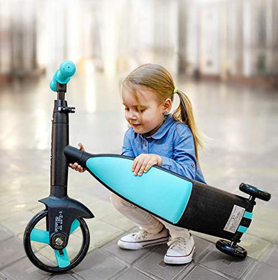 3 in  1 folding kid scooter