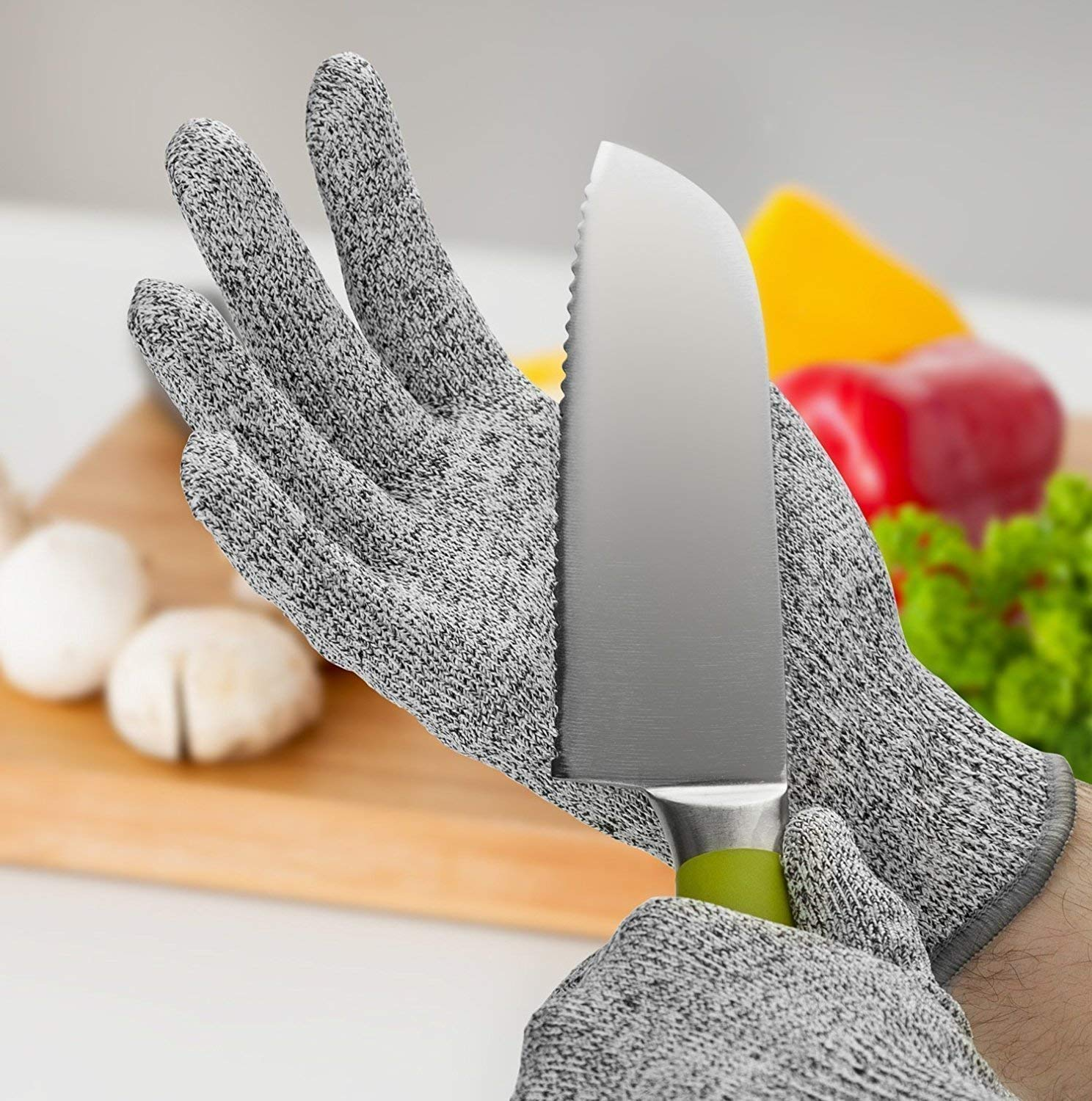 CUT RESISTANT GLOVES (1 PAIR )