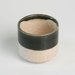 Load image into Gallery viewer, 3 Inch Dark Top Ceramic Pot
