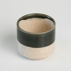 3 Inch Dark Top Ceramic Pot