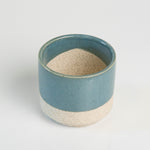 Load image into Gallery viewer, 3 Inch Teal Top Ceramic Pot