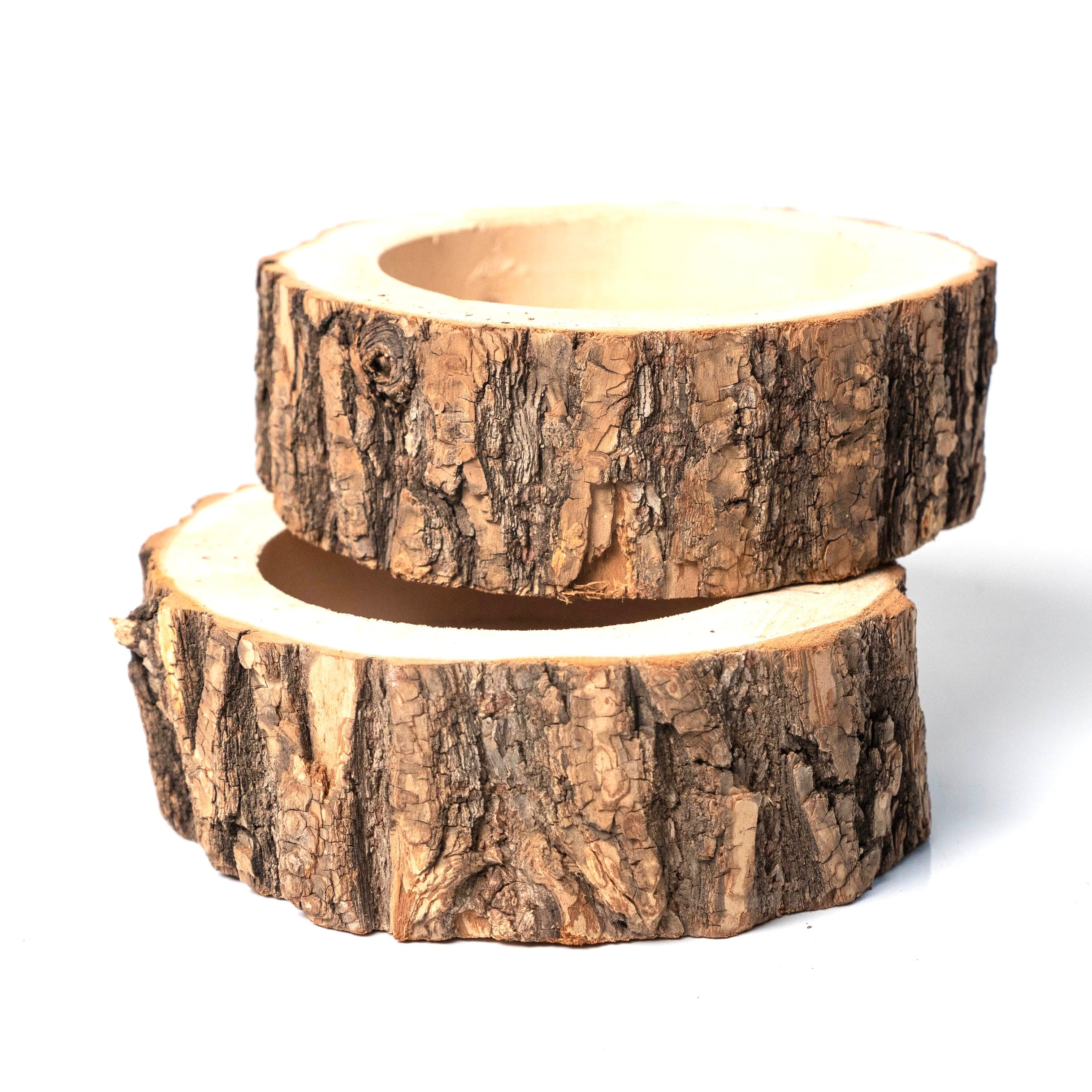Natural Oak Forest Planter