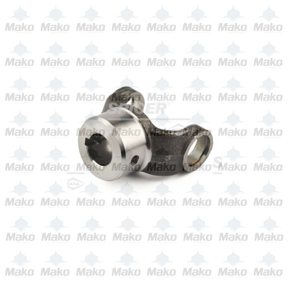 "1310 Series Driveshaft End Yoke PTO 1"" Round Bore .250 Key 2-4-473"