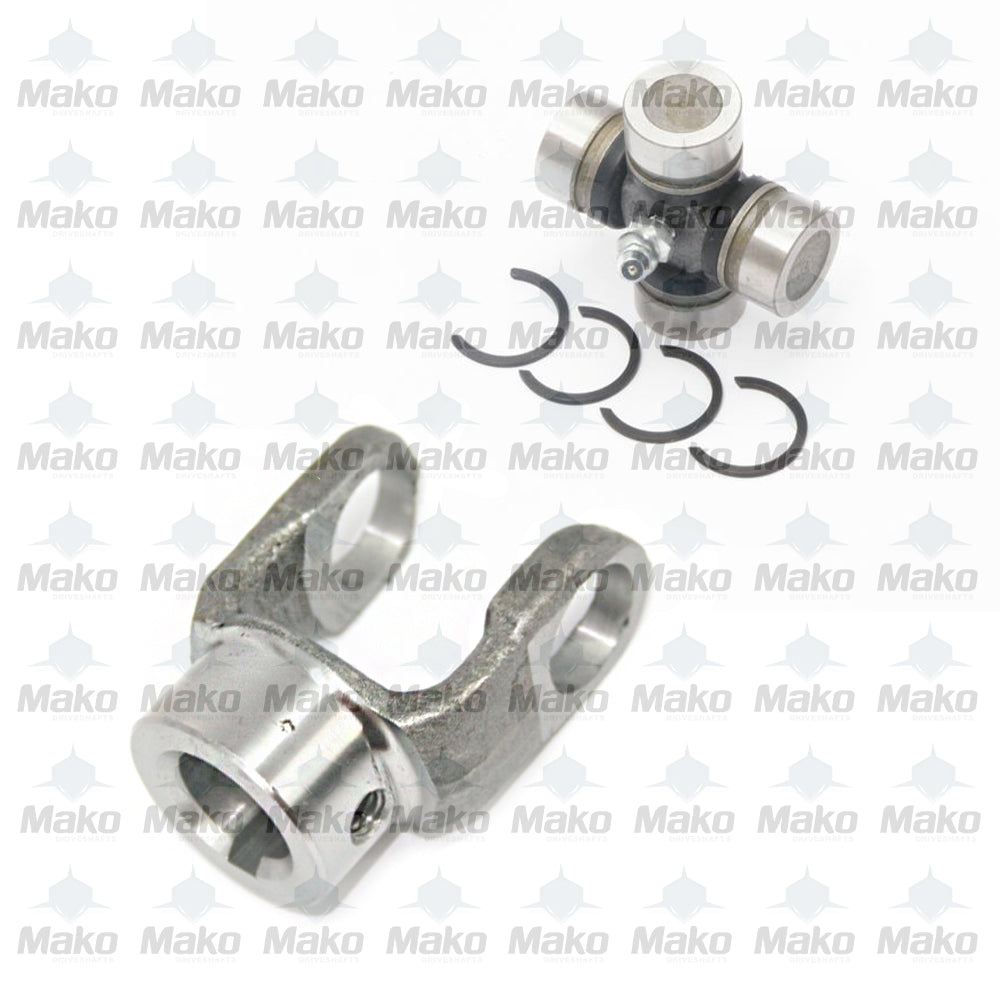 10-4-123 Driveshaft PTO End Yoke + 5-170X Universal Joint 1000 series