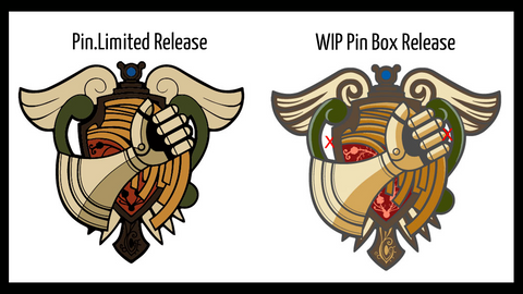 Pin Box Trails Bracer Pin Concept