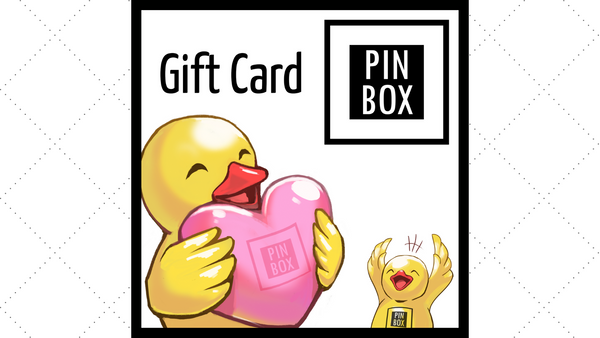 Pin Box Gift Card