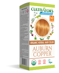 ORGANIC HERBAL HAIR COLOR AUBURN / COPPER