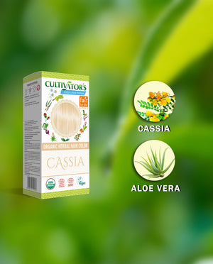 Buy Now | Cultivators Organic Herbal Hair Color Cassia Online