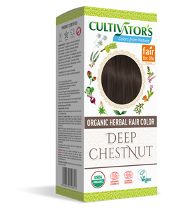 ORGANIC HERBAL HAIR COLOR DEEP CHESTNUT