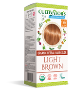 Certified Organic Herbal Hair Color Light Brown | Enquire Now