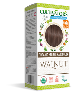 Explore Now | 100% Certified Organic Herbal Hair Color Walnut
