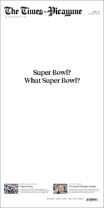 """What Super Bowl?"" Poster"