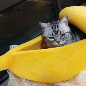 Banana Cat And Dog Bed