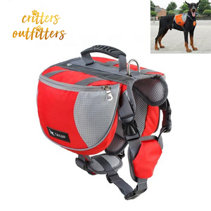 Dog Backpack Carrier With Harness
