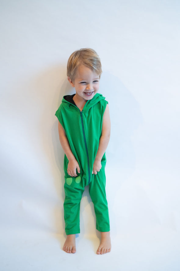 Green Toddler & Kid's Frog Costume