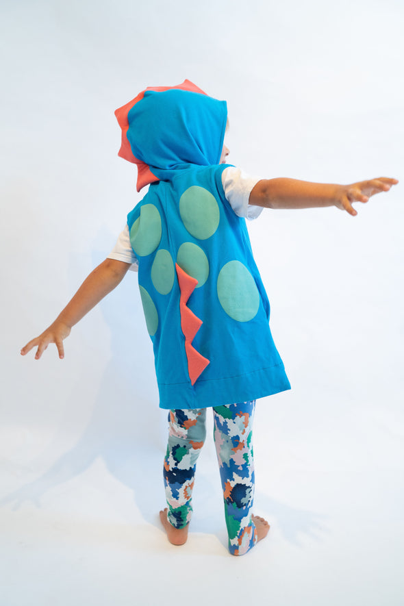 Blue Toddler & Kid's Dinosaur Costume