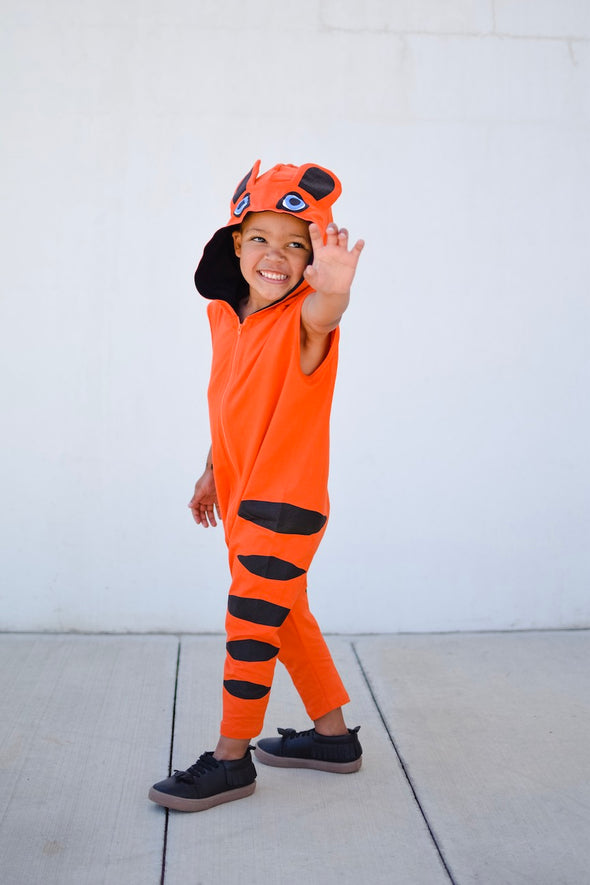 Toddler & Kid's Breathable Tiger Costume