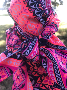 NEON COWGIRL Small Rag