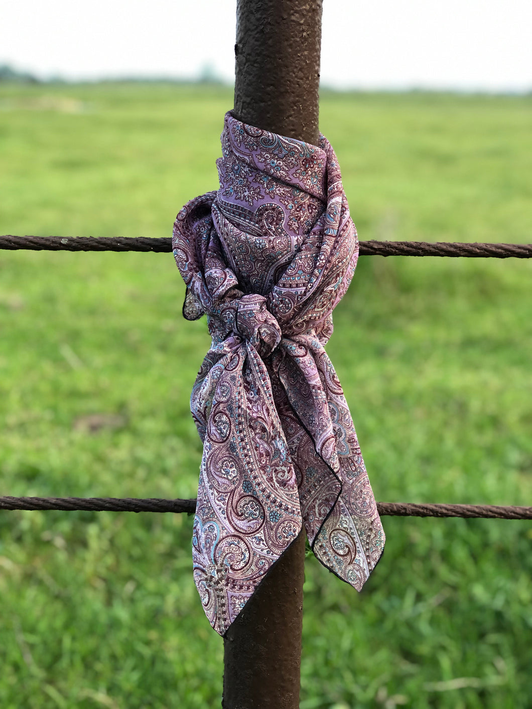 PRETTY IN PURPLE Wild Rag