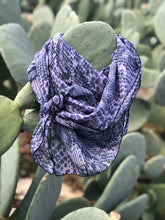 Load image into Gallery viewer, PURPLE SNAKESKIN Wild Rag