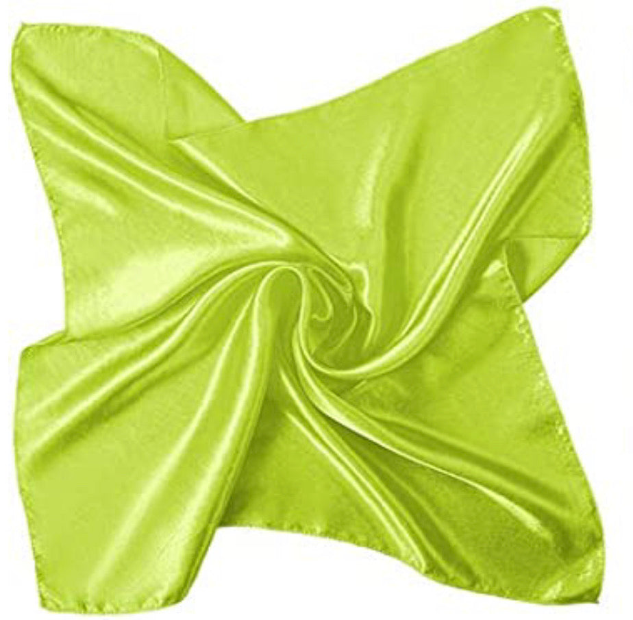 "19.7"" x 19.7"" Key Lime Rag"
