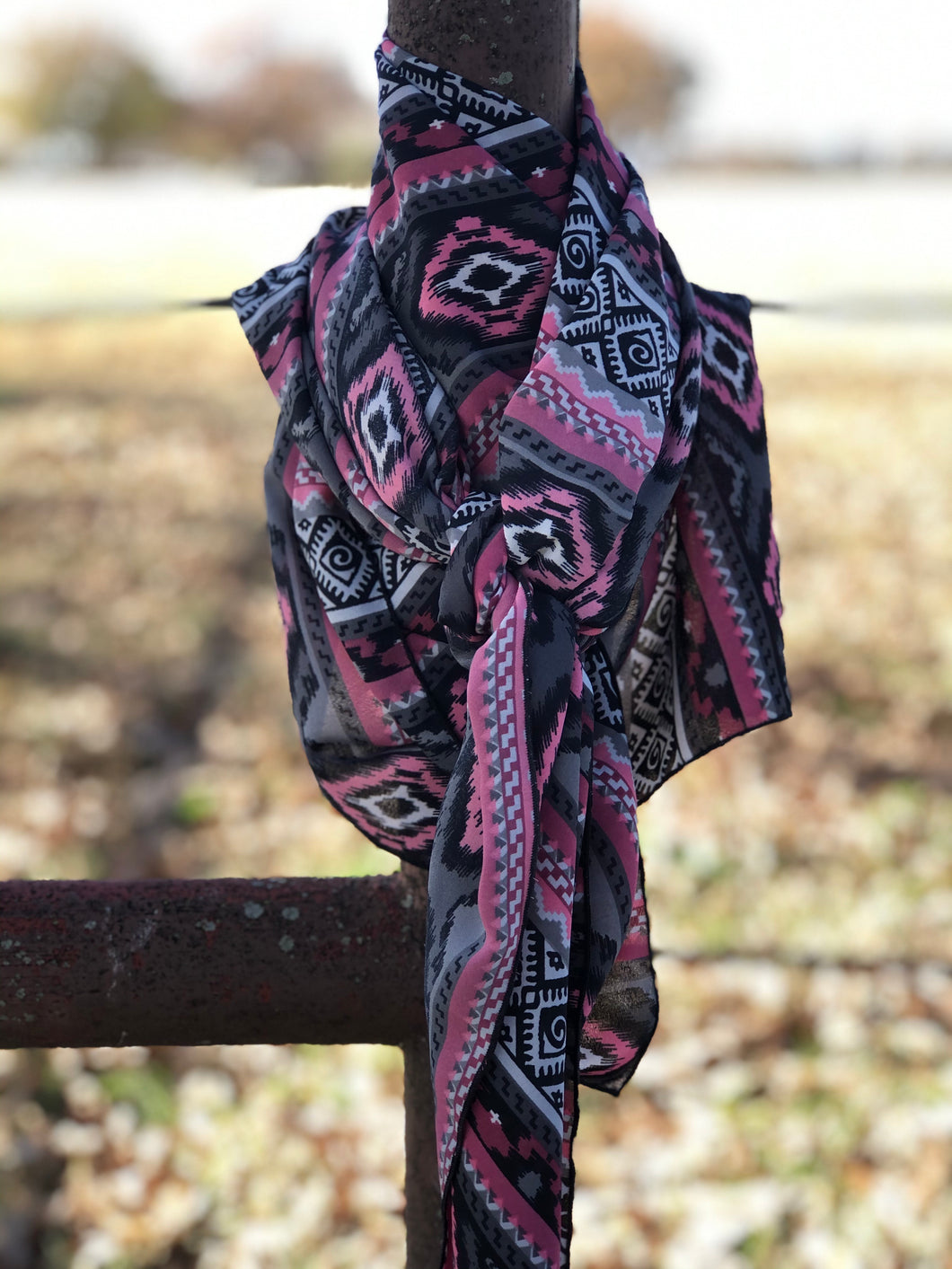 PRETTY IN PINK Wild Rag