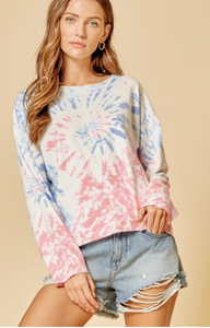 Andree Tie Dye Sweater Top