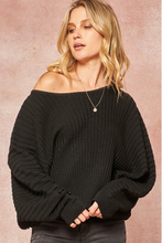 Load image into Gallery viewer, Chelsea Black Sweater