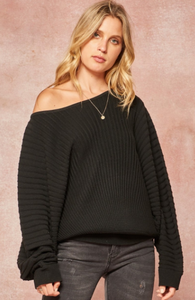 Chelsea Black Sweater