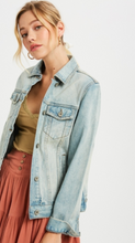 Load image into Gallery viewer, Ashlyn Denim Jean Jacket