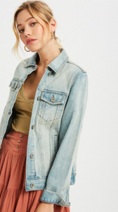 Ashlyn Denim Jean Jacket