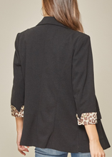 Load image into Gallery viewer, Lizzie Leopard Jacket