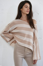 Load image into Gallery viewer, Megan Knit Oversized Sweater