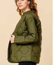 Load image into Gallery viewer, Ozzie Olive Jacket