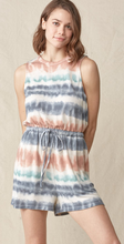 Load image into Gallery viewer, Tie Dye Romper