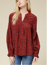 Load image into Gallery viewer, Val Leopard Blouse