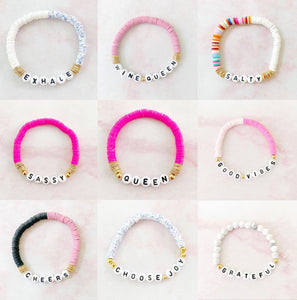 Inspirational Stretch Bracelets