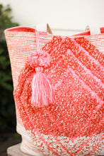 Load image into Gallery viewer, Pink Beach Tote