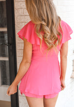 Load image into Gallery viewer, Pretty in Pink Romper