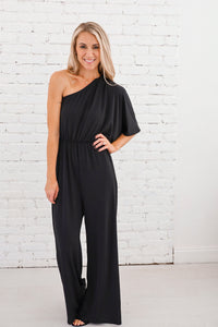 Shaley One Shoulder Jumpsuit