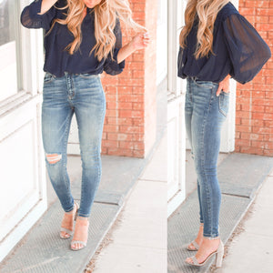 **Sia Skinny Denim
