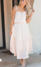 Load image into Gallery viewer, Brendi Pink Stripe Dress
