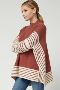 Marsala Turtleneck Sweater