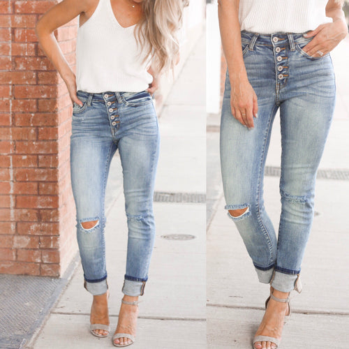 **Maddie Medium Wash Denim