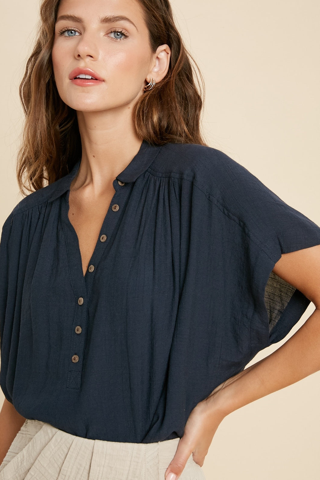 Bradford Button Down Blouse