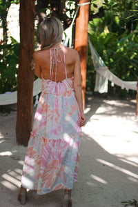 Turks Halter Maxi Dress