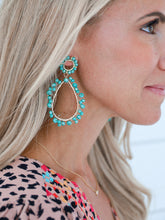 Load image into Gallery viewer, Corrine Turquoise Earrings