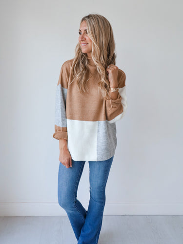 Tinsley Taupe Sweater