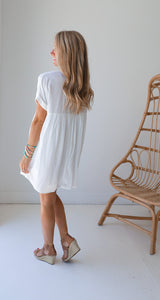 Cameron White Dress